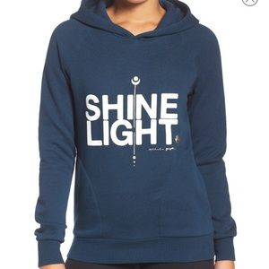 Spiritual Gangster Tops - Spiritual Gangster Shine Light Tribeca Hoodie